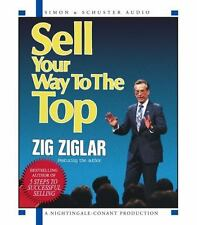 Sell Your Way to the Top [Audio] by Zig Ziglar 2 CD Set