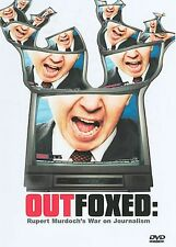 DVD Rupert Murdock OUTFOXED Fox News