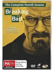 BREAKING BAD Season 4 : NEW DVD