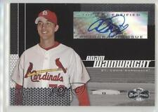 2006 Topps Co-Signers 108 Adam Wainwright St. Louis Cardinals Auto Baseball Card