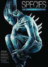 SPECIES THE COMPLETE COLLECTION (DVD, 2014, 4-Disc Set) NEW