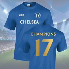 Chelsea Champions T-Shirt - Junior (5-13 Years)