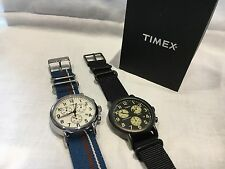 Timex Indiglo Weekender Chronograph Watch Nylon Strap ,  RRP £79.99