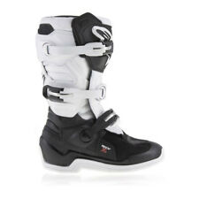 NEW Alpinestars Tech 7s YOUTH KIDS MX Motocross Boots - Black/White