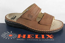 Helix Mules, Mules Clogs brown leather for Insoles fits NEW
