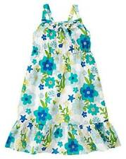 GYMBOREE GIRLS RUFFLE SEA BLOSSOM SUN DRESS SIZE 5 OR 6 SPRING SUMMER NWT