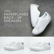 PaperPlanes Mens Casual Shoes Fashion Athletic Lace Up Leather Sneakers 1361 UK