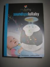 myBaby Soundspa Lullaby Sound Machine and Projector / Portable / On-The-Go