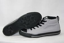 NEW Mens CONVERSE High Street Mid 154882F Light Grey Black Sneakers Shoes