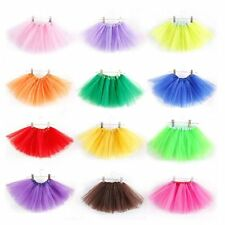 Kids Baby Girls Bling Tulle Skirt Party Princess Tutu Dress Dance Wear Costumes