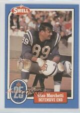 1988 Swell Football Greats Hall of Fame #75 Gino Marchetti Baltimore Colts Card
