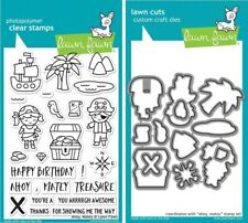 Lawn Fawn Ahoy Matey - Clear Stamp (LF1411) or Craft Die (LF1412)