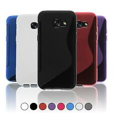 Silicone Case for Samsung Galaxy A5 (2016) A510 S-Style  + protective foils