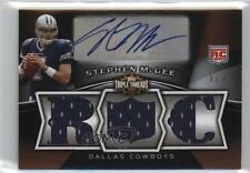 2009 Topps Triple Threads Platinum #133 Stephen McGee Dallas Cowboys Rookie Card