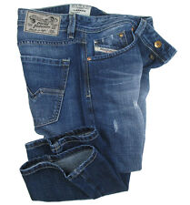 DIESEL Jeans LARKEE ( Relaxed Fit ) blue distressed 008B9