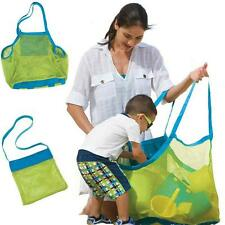 Kids Baby Sand Away Carry Beach Treasures Toys Pouch Tote Mesh Children Bag Big