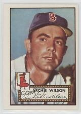 1983 Topps 1952 Reprint Series #327 Archie Wilson Boston Red Sox Baseball Card