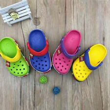 New hot selling  Crocs style girls boys Kids Crocband Lego Limited Edition shoes
