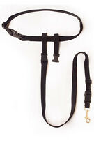 The Buddy System-Small Dog, Hands Free Leash System, Black