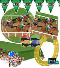 HORSE RACING TABLEWARE AND BUNTING Grand National Derby Racing Party Decorations