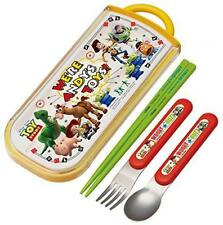 Trio set sliding chopsticks spoon fork set toy story 17 Disney TCS 1 AM