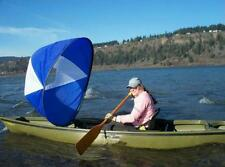 """Durable 42"""" Kayak Boat Wind Sail Sup Paddle Board Sail With Clear Window Sailing"""