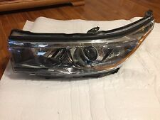 2014 2015 2016 TOYOTA HIGHLANDER LEFT SIDE OEM HALOGEN HEADLIGHT HEADLAMP