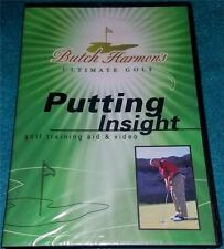 BUTCH HARMON'S ULTIMATE GOLF: PUTTING INSIGHT, DVD, NEW (GOLF TRAINING)