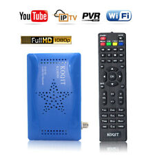 HD AC-3 DVB-S2 Digital Satellite Receiver + USB WIFI Youtube Support Key Decoder