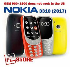Original Nokia 3310 Dual Sim 2017 NEW Cell Phone Unlocked FM radio EU version