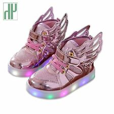 HH Children shoes with light Fashion glowing sneakers boys little girls shoes wi