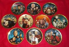 STAR TREK THE NEXT GENERATION THE EPISODES COLLECTORS PLATES + COA CHOOSE PLATE