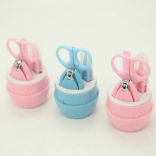 Kid Child Baby Infant Finger Toe Nail Clipper Scissor Cutter Safety Manicure Set