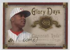 2005 SP Legendary Cuts Glory Days Gold #GD-BL Barry Larkin Cincinnati Reds Card