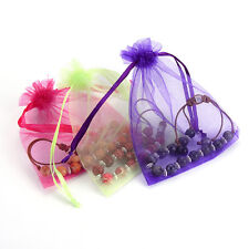 Organza Bags 7x9cm Favor Wedding Party Gift Bag Jewelry Bags Pouches 50pcs/kit
