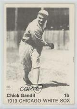 1975 TCMA 1919 Chicago White Sox #CHGA Chick Gandil Rookie Baseball Card