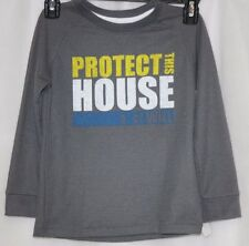 NEW Infant Toddler Boys UNDER ARMOUR UA Protect This House Long Sleeve Shirt