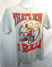 Stewie- NEW! That's how I Roll shirt Family Guy Heather Rat Fink- Latest!