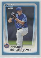 2011 Bowman Draft Picks & Prospects Blue #BDPP30 Michael Fulmer New York Mets