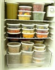 Party Bargains Plastic Food Storage Containers with Lids Reusable & Leak Proof
