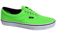 Vans Off The Wall Era MLX Unisex Neon Green Lace Up Canvas Trainers VHQAO6 U37
