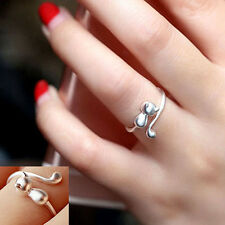 Sweet Animal Cat Open Finger Ring Jewelry Charm Women Party Prom Gift Utility