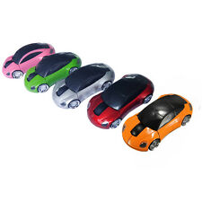 1Pcs New For Laptop USB 2.4G Mice PC Car Shaped Mouse Optical Wireless 1800DPI