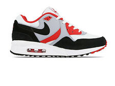 NIKE AIR MAX LIGHT WHITE BLACK RED SIZE 5 6 38 40 RARE SP TZ 1 90 95 97 TRAINERS