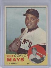 1963 Topps #300 Willie Mays San Francisco Giants Baseball Card