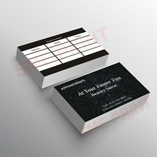 Beauty / Hair Salon Appointment Cards, Gift cards, Loyalty Cards Custome design