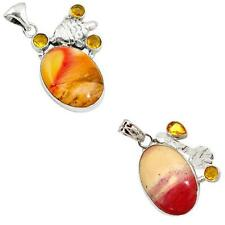 925 sterling silver mookaite pendant jewelry by jewelexi 6379A