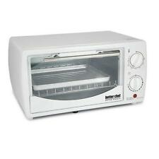 Better Chef 9 Liter Toaster Oven Broiler White