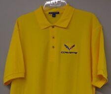 C7 Chevrolet Corvette Embroidered Mens Sport Polo Shirt S-6XL, LT-4XLT Chevy New