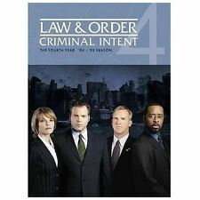 Law  Order: Criminal Intent - The Fourth Year (DVD, 2009, 5-Disc Set)